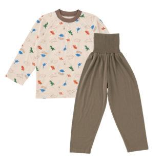 腹巻付長袖パジャマ