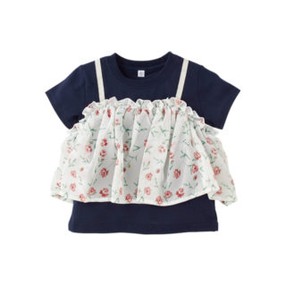 レイヤード風 Tシャツ