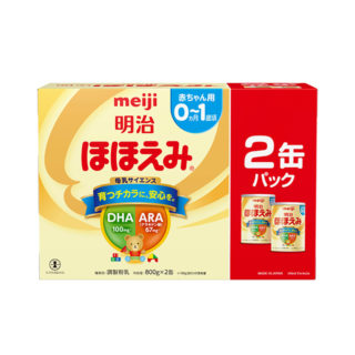 明治 ほほえみ 大缶 2缶パック