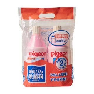 ピジョン 哺乳瓶除菌料 1050ml 2パック