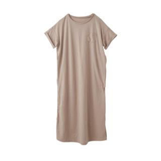 【ELFINDOLL】 ポケット付き半袖Tシャツワンピース