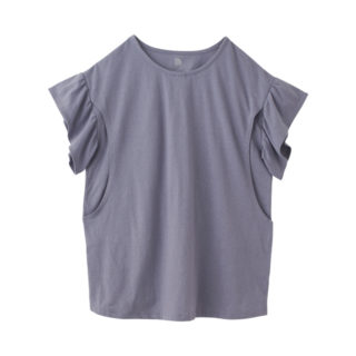 【ELFINDOLL】 袖フリルTシャツ