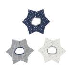 【ELFINDOLL】 3枚組 星型くるくるスタイ