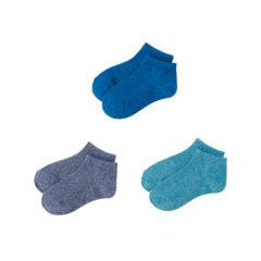 3足組 カラーパレットソックス