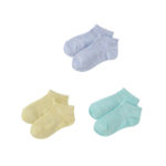 【ELFINDOLL】 3足組 カラーパレットソックス