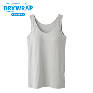 【ELFINDOLL】 DRYWRAP モールドカップ付タンクトップ