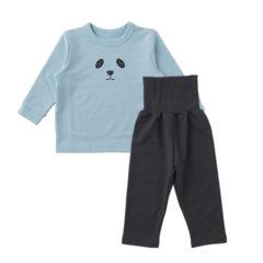 ベビー 腹巻付 長袖 パジャマ