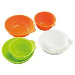 【SmartAngel】 離乳食カップ&ボウルセット (各3個入)  オレンジ