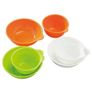 【SmartAngel】 離乳食カップ&ボウルセット (各3個入)
