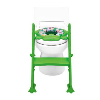 ステップ式トイレトレーナー グリーン