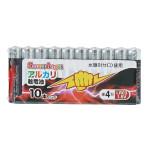 SmartAngel アルカリ乾電池 単4 10本入り