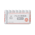 【SmartAngel】 アルカリ乾電池 単4 (8本入)