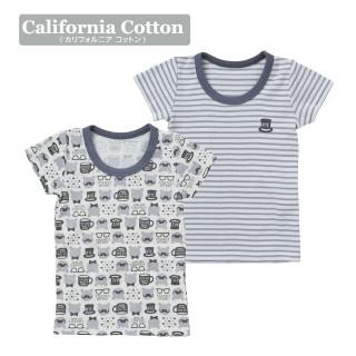 ELFINDOLL ベビー男児 2枚組 半袖シャツ