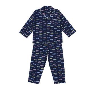布帛長袖パジャマ