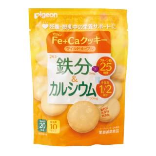 ピジョン Fe+Caクッキー マイルドメープル 個包装10枚入