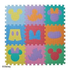 デザインマット ミッキーマウス&ミニーマウス カラー(9枚入)