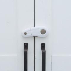 開き戸ロック(スライドして回転タイプ)