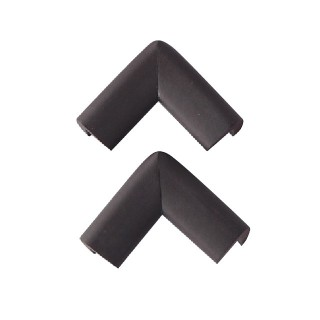 【SmartAngel】 コーナーガード Sサイズ ブラウン (2個入)