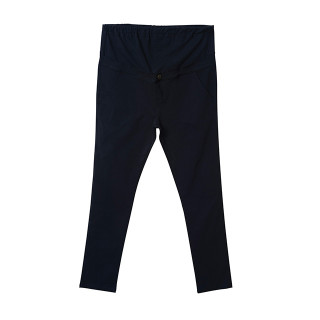 【マタニティウェア】ストレッチ布帛パンツ