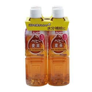 ピジョン ペットボトル飲料4P(麦茶・すっきりアクアりんご)
