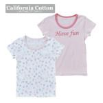 【ELFINDOLL】 女児 2枚組 半袖シャツ