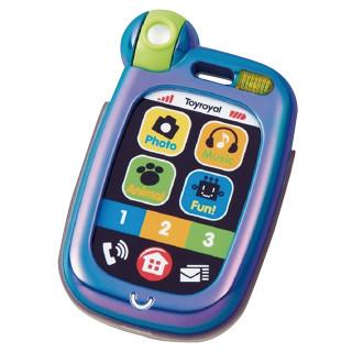 おでかけスマートフォン ブルー