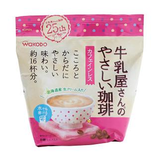 和光堂 カフェインレス 牛乳屋さんのやさしい珈琲 220g(約16杯分)