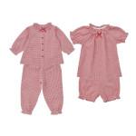 2枚組パジャマ(長袖+半袖)