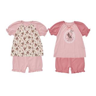 2枚組パジャマ(半袖+半袖)