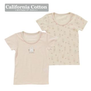 【ELFINDOLL】 女児2枚組半袖シャツ