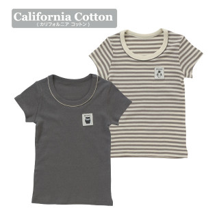 【ELFINDOLL】 男児2枚組半袖シャツ