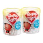 平和 赤ちゃん綿棒だんご型180本×2個