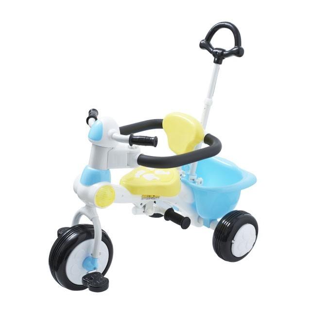 三輪車first ブルー