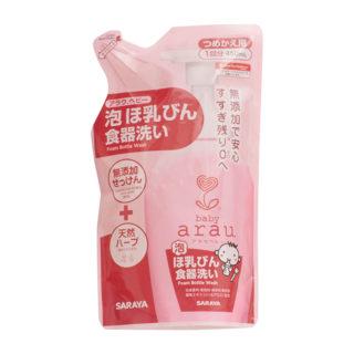 アラウ ベビー泡 ほ乳びん食器洗い 詰替 450ml