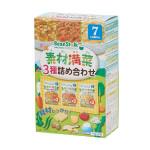 ビーンスターク 素材満菜 3種詰め合わせ 6食セット