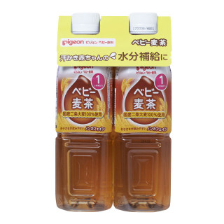 ピジョン ペットボトル飲料 2本(麦茶・すっきりアクアりんご)