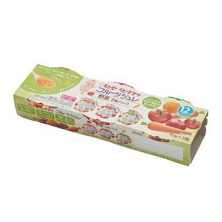 キユーピー フルーツジュレ 3個パック 各種