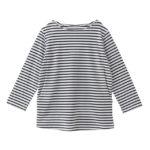 【ELFINDOLL】 ボーダー柄7分袖Tシャツ