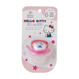 【SmartAngel】 HELLO KITTY おしゃぶり (6ヶ月~18ヶ月)