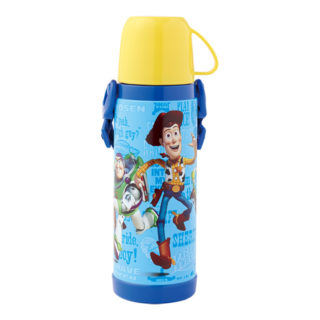 【SmartAngel】 2WAYステンレス水筒 450 トイストーリー