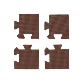 【SmartAngel】   ブラウン色の抗菌外枠 コーナー部用 4枚入